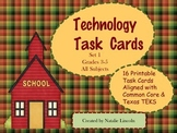 Computer Task Cards