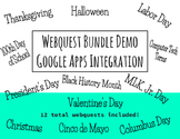 Webquest Bundle - Editable in Google Apps!