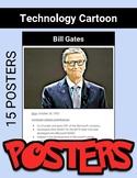 Computer Technology Cartoon Posters