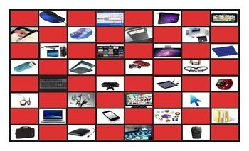 Computer Technology Checker Board Game
