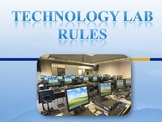 Computer / Technology Lab Rules for Back to School