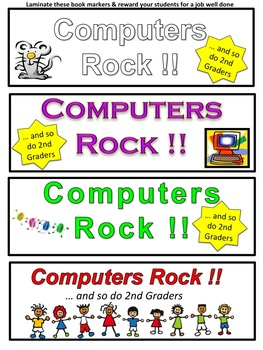 Computer Technology Lessons with Three Worksheets for Grade 2