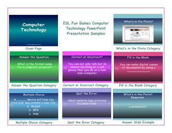 Computer Technology PowerPoint Presentation
