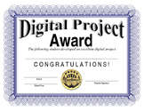 Computer Technology Project Certificate