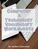 Computer & Technology Vocabulary Worksheets