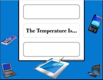Computer Technology Weather Chart! Technology Bulletin Board! Computer Class!