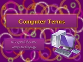 Computer Terms Powerpoint