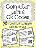 Computer Terms QR Codes