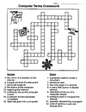 Computer Terms Word Search & Crossword
