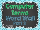 Computer Terms Word Wall Part 2
