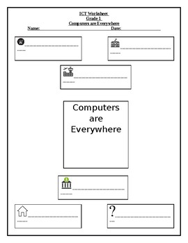 Free Grades 1 - 2 Computer Science - Technology Worksheets | TpT