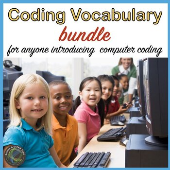 Hour of Code: Computer Vocabulary Posters Bundle