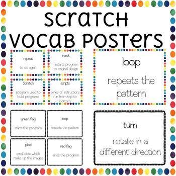 Scratch Programming Computer Vocabulary