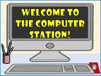 Computer Welcome Signs