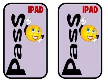 Computer and IPAD Passes