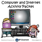 Computer and Internet Activity Packet and Worksheets