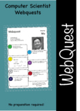 Computer science and computing web quest (webquest) pack