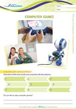 Computers - Computer Games - Grade 3