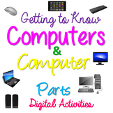 Parts of the Computer-Computer Parts Sorting & Binary Code