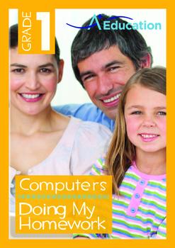 Computers - Doing My Homework - Grade 1