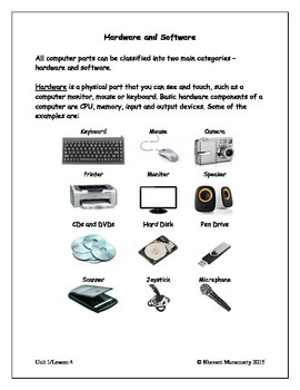 Computers Introduction - Hardware and Software