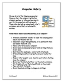 Computers Introduction - Computer safety (upper elementary)