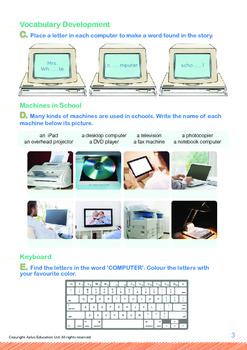Computers - Machines in My Classroom - Grade 1