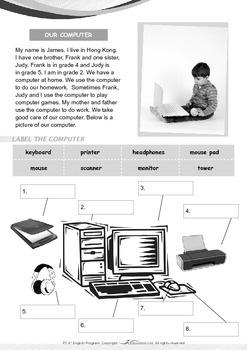 Computers - Our Family Computer - Grade 2