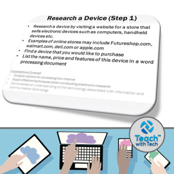 Computers Summative Evaluation Activity Microsoft Office Google Drive
