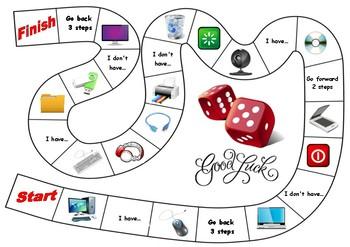 Computers Board Game By Alyona Kaus Teachers Pay Teachers