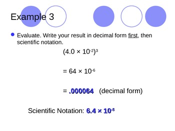 Computing with Scientifc Notation