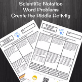 Computing with Scientific Notation Word Problems Create th