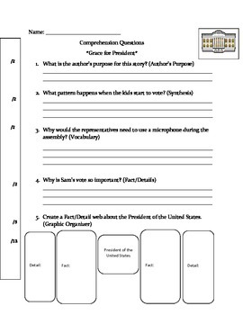 Comrehension Questions-Grace for President