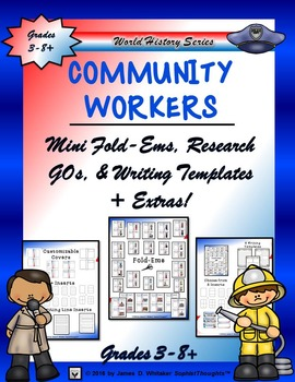 Community Workers Mini Research Fold-Ems and Activities