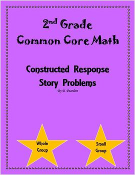 Constructed Response Story Problems