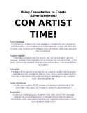 Con Artist Time: Using Connotation to Sell!