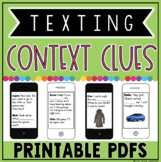 ConTEXT Clues Practice Pages