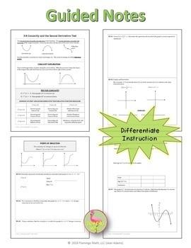 Calculus: Second Derivative Test