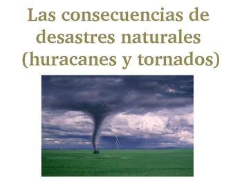 Concecuencias de tornados y huracanes