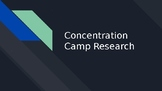 Concentration Camp Research Project
