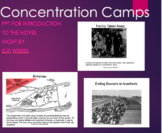 Concentration Camps 30 SLIDES Background for Novel Night b