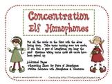 Concentration Elf Homophones