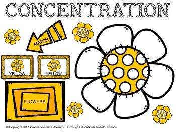 Concentration Flowers