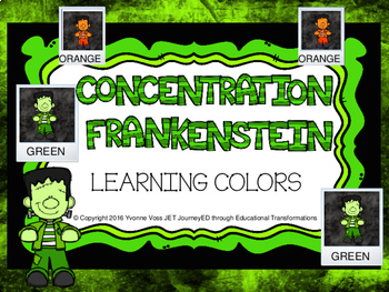 Concentration Frankenstein Learning Colors