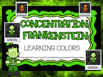 Concentration Frankenstein Learning Colors