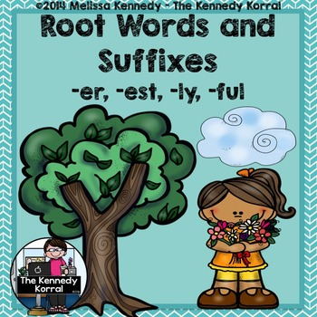 Suffixes: -ER, -EST, -LY, -FUL {Anchor Charts, Word Cards