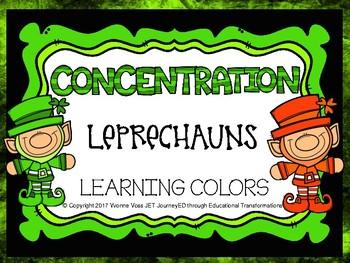 Concentration Leprechauns