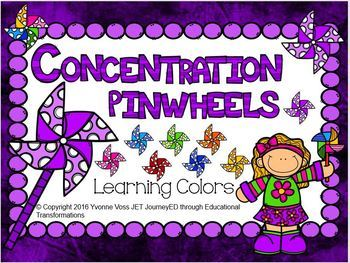 Concentration Pinwheels