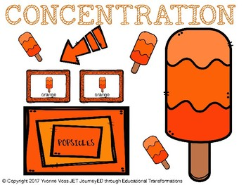 Concentration Popsicles