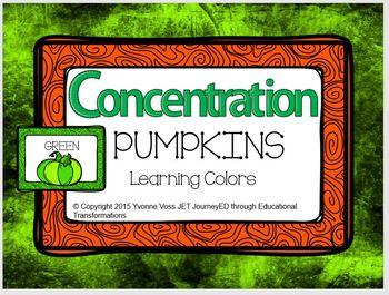 Concentration Pumpkins